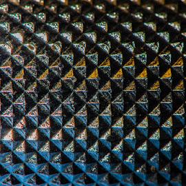 by Stephen  Barker - Abstract Macro ( macro, pattern, handle, close, tool )