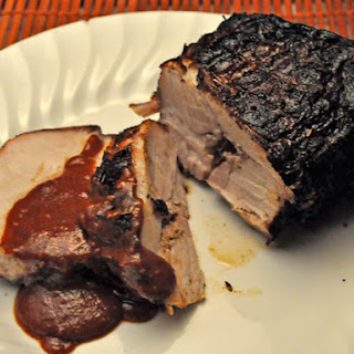 Smoked, Barbecued Pork Loin