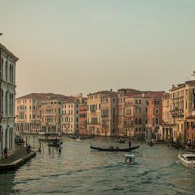 by Mario Horvat - Buildings & Architecture Public & Historical ( venice, italia, historic, venezia, canal, travel, benetke, popular, italy, architecture, touristic )