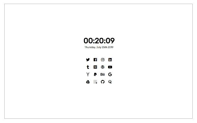 Sepi - A Custom New Tab Page