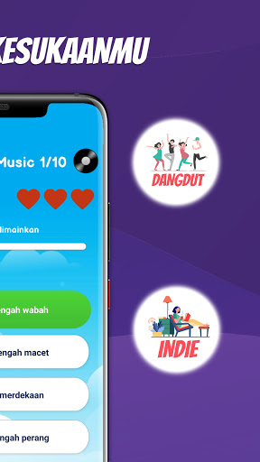 Tebak Lagu Indonesia 2020 Offline modavailable screenshots 4