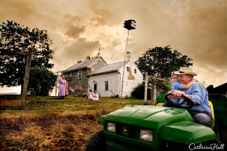 Photo: The John Deere Way of Life. This was a photograph from a commercial shoot for John Deere and the original concept was to illustrate how the brand is not just about equipment, but a way of life. I was interested to capture the lifestyle of people who depend on John Deere for their livelihood. Copyright: Catherine Hall Studios.