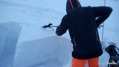 Photo: po Kompresnom teste - Nórska sonda
