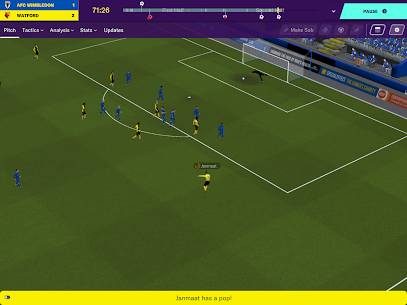 Football Manager 2020 Touch  Apk Download For Android and Iphone 4