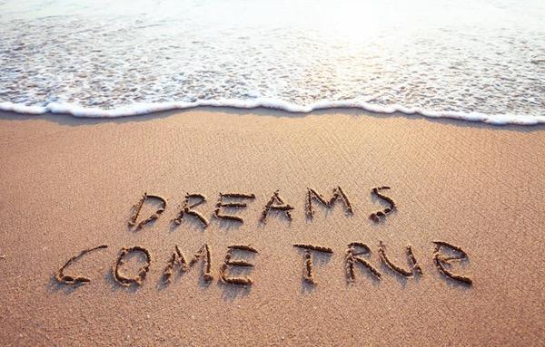 Dreams come true on sand