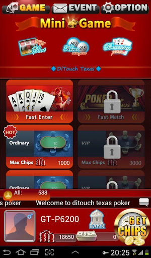 Ditouch Texas Poker