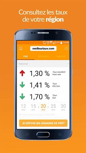 Meilleurtaux.com – Taux, crédit, assurance Android App Screenshot