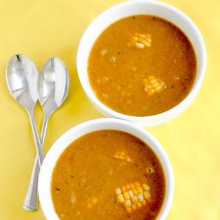 Caribbean Corn Soup.