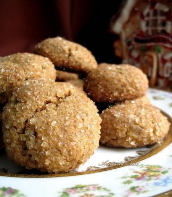 Spice Cookies With Ginger, Cardamom And Rose Water Recipe