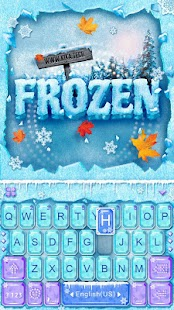 Frozen Kika Keyboard Theme 1 0 Apk Game (Personalization