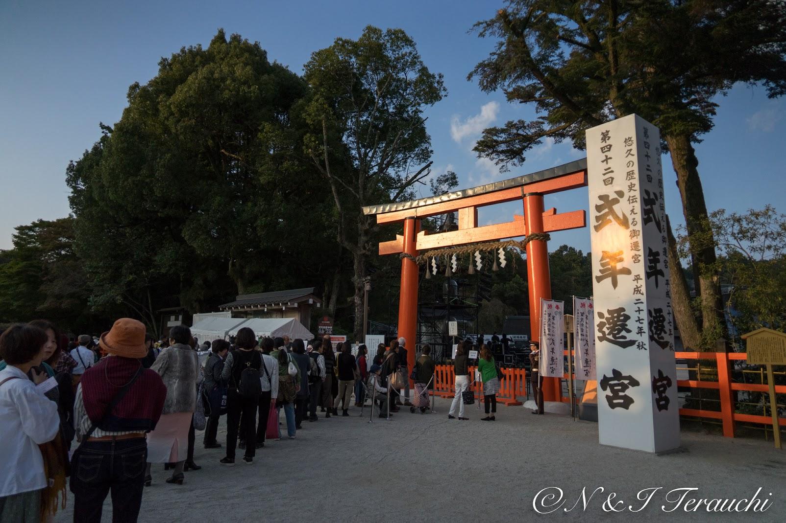 2015年10月、第42回式年遷宮を迎えた「上賀茂神社」