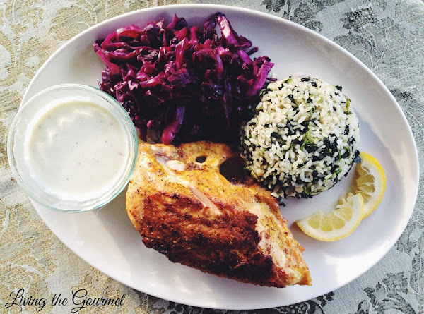 Chicken Breasts With Spiced Pickled Cabbage Recipe