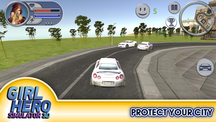 Girl Hero Simulator - screenshot