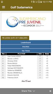 Southamerican Golf Federation - náhled
