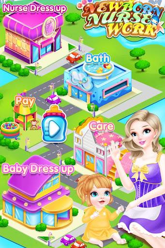 無料休闲Appのニューボーン エルサ ナースワーク&ドレスアップして再生|HotApp4Game