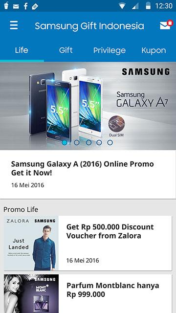 Samsung Gift Indonesia- screenshot