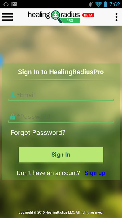 HealingRadiusPro- screenshot