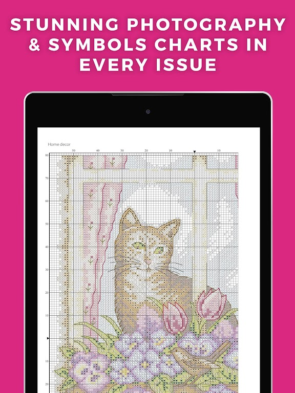 Ultimate Cross Stitch Magazine - Stitching Pattern  poster 10