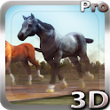 Horses 3D Live Wallpaper icon