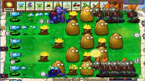 Tips for Plants vs Zombies - náhled