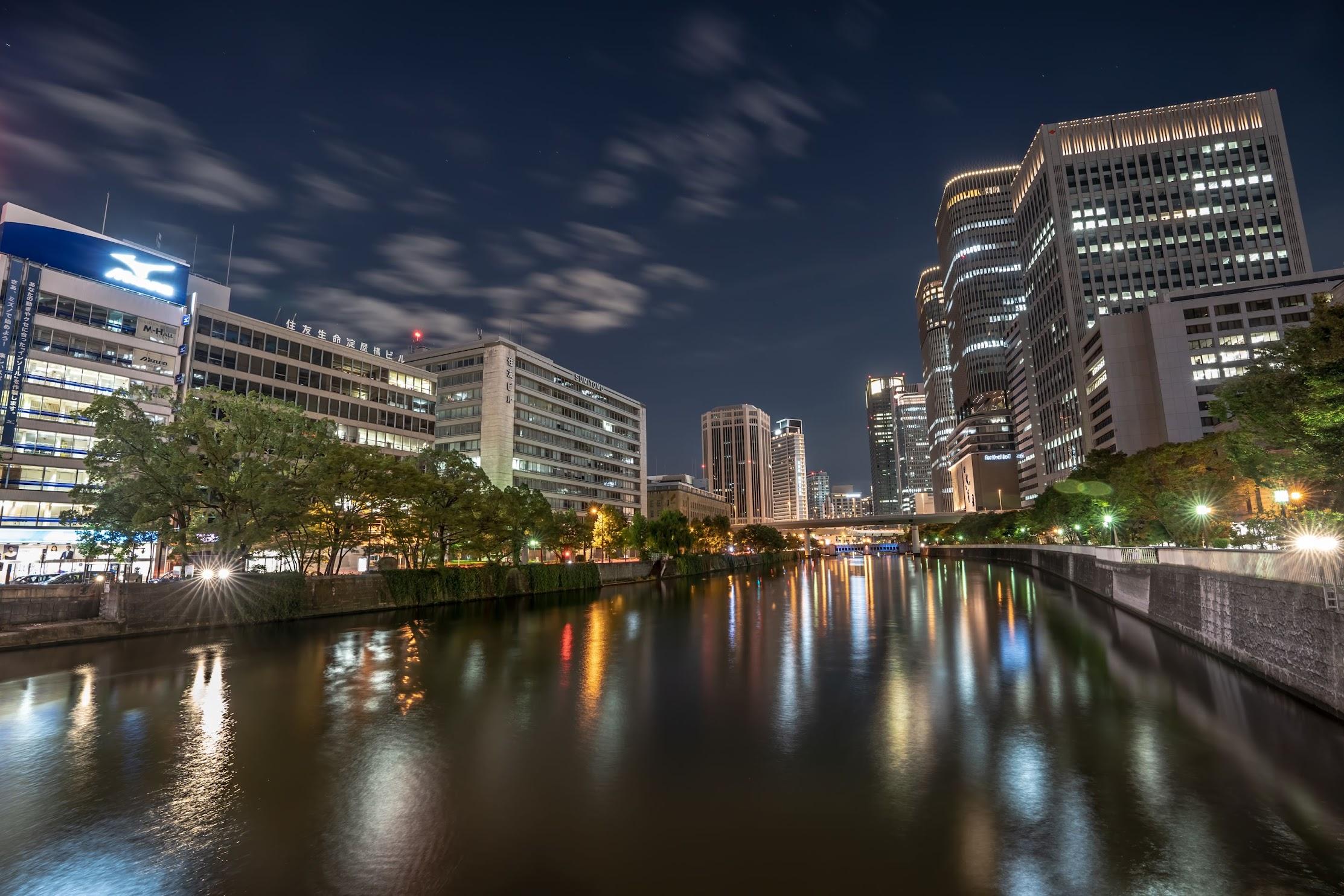 Osaka Nakanoshima evening4