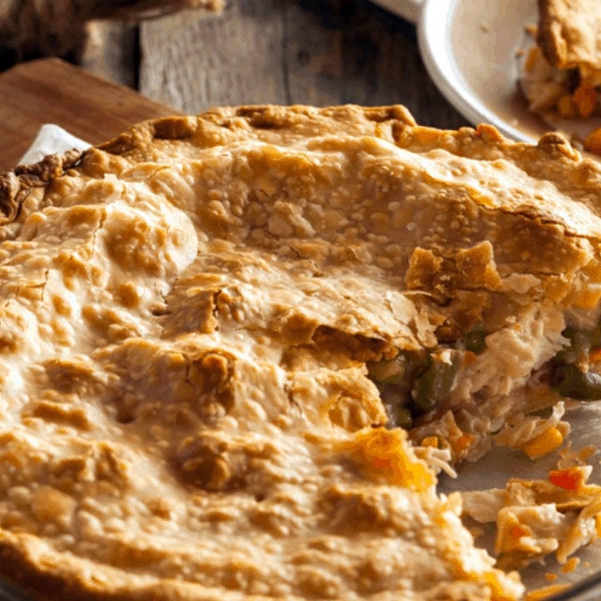 Easy Homemade Chicken Pot Pie