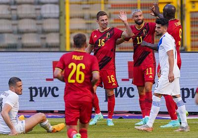 Thorgan Hazard forfait pour la Finlande?