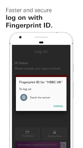 HSBC UK Mobile Banking - screenshot