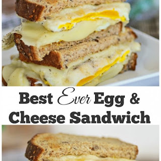Best Ever Fried Egg and Cheese with a Secret Ingredient.