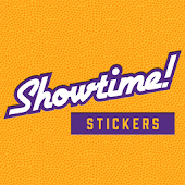 Lakers Showtime! Stickers