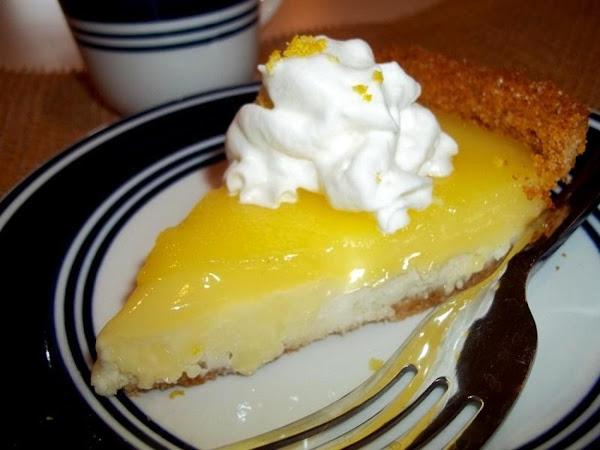 ~ Lemon Cheesecake Pie ~ Recipe