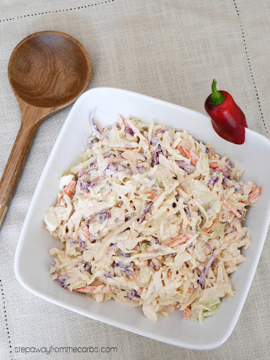Low Carb Coleslaw with Chipotle