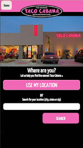 Taco Cabana screenshot 1
