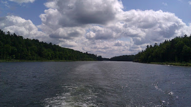 Photo: Collins Inlet (really a river)