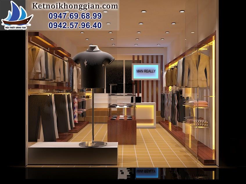 thiết kế shop thời trang nhỏ chuyển nghiệp