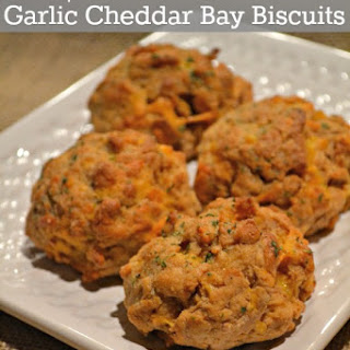Simple From Scratch Garlic Cheddar Bay Biscuits