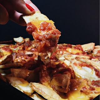 Cheesy Salsa Fries