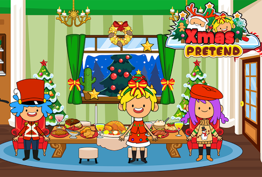 My Pretend Christmas - Kids Holiday Party FREE 1.2 screenshots 1