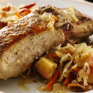 German Pork & Cabbage Casserole.