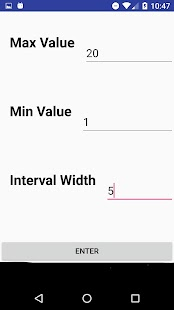 Range to Intervals Calculator - náhled