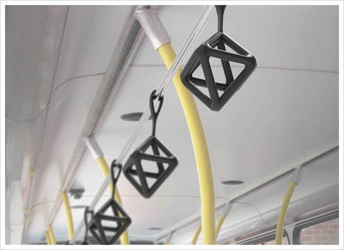 姐妹淘瘋設計公車地鐵把手