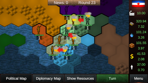 Nations in Combat Lite  trampa 2