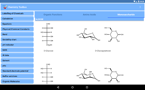 Chemistry Toolbox - Full screenshot 5