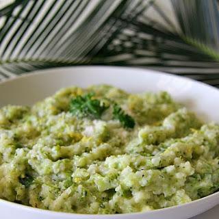 Cauliflower Rice Broccoli Risotto.
