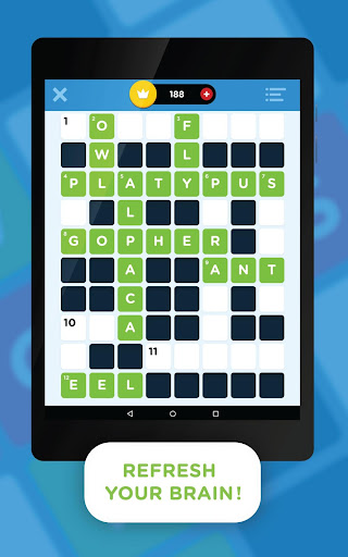 Crossword Quiz Screenshot