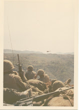 Photo: A Battery of 1/77 staged prior evacuation of LZ Peanuts on May 5, 1968.  Direction of photo unknown at present.  Possibly E/NE.
