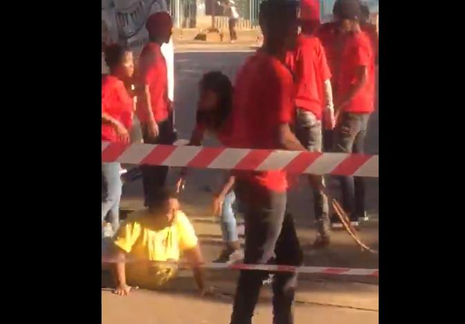Members of the EFF student command and SA Student Students Congress clashed at the Durban University of Technology on Tuesday.