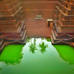 Perallassery temple pond, Kerala, India by Dipin Dev P - Buildings & Architecture Places of Worship ( water, temple, architecture, worship, pond )