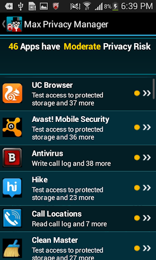 Max Privacy Manager screenshot 4