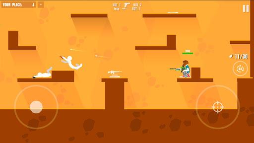 Stickman Battles: Online Shooter 1.0 screenshots 2
